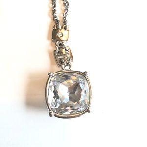 Swarovski Square Crystal Pendant